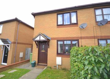 Thumbnail 2 bed semi-detached house for sale in Wimborne Crescent, Westcroft, Milton Keynes, Buckinghamshire