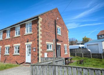 Thumbnail 3 bedroom semi-detached house for sale in The Wamses, Beadnell, Northumberland