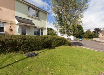 Thumbnail 2 bed end terrace house for sale in Holly Close, Chudleigh, Newton Abbot