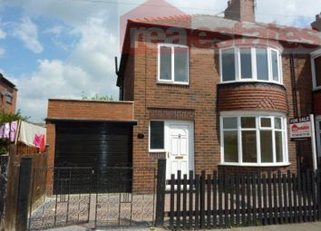 Thumbnail 3 bed terraced house to rent in Rutland Avenue, Bishop Auckland