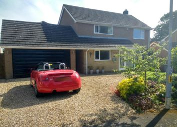Thumbnail 4 bed detached house for sale in Hall Close, Whissendine, Oakham