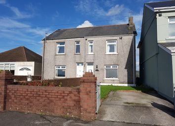 Thumbnail 3 bed semi-detached house for sale in Cefn Road, Cefn Cribwr