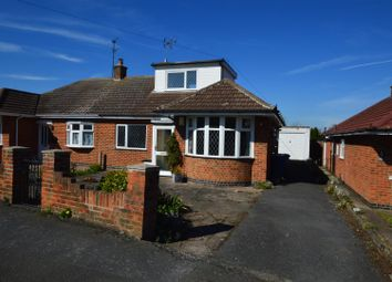 Thumbnail 2 bed semi-detached bungalow for sale in Brickley Crescent, East Leake, Loughborough
