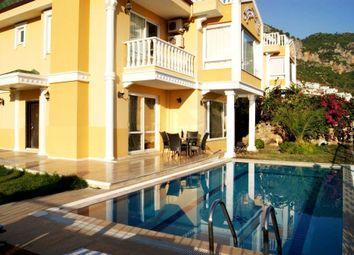 Thumbnail 4 bed villa for sale in Alanya, Antalya, Turkey