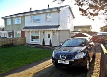 Thumbnail 3 bedroom semi-detached house for sale in Hillsyde Crescent, Thornley, Durham