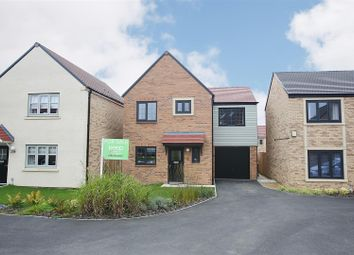Thumbnail 3 bed detached house for sale in Deleval Crescent, Shiremoor, Newcastle Upon Tyne