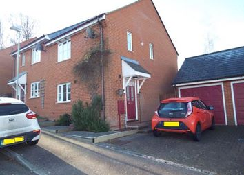 Thumbnail 3 bed semi-detached house for sale in Almond Court, Chartham, Canterbury, Kent