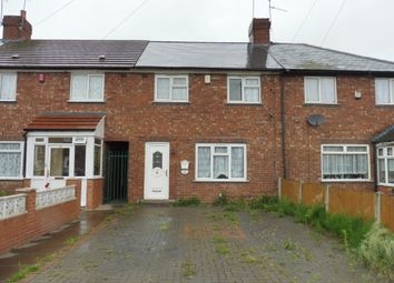 Thumbnail 3 bedroom terraced house for sale in Hazelbeech Road, West Bromwich