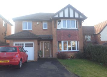 Thumbnail 4 bed detached house to rent in Beaumaris Close, Acrefair, Wrexham