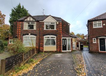 Thumbnail 3 bed semi-detached house for sale in Sandringham Grange, Prestwich, Manchester