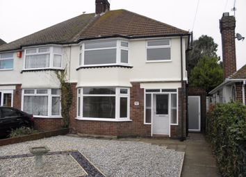 Thumbnail 3 bed semi-detached house to rent in Lindenthorpe Road, Broadstairs