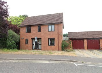 Thumbnail 3 bedroom detached house to rent in Barons Road, Bury St. Edmunds
