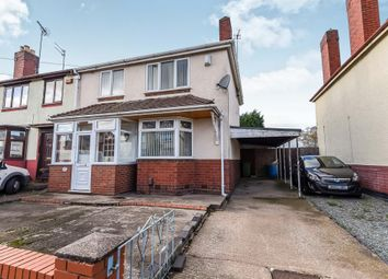 Thumbnail 3 bed semi-detached house for sale in Stanbury Avenue, Wednesbury