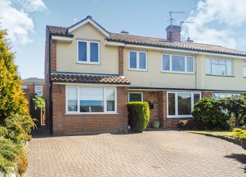 Thumbnail 4 bed semi-detached house for sale in Bullpit Road, Balderton, Newark