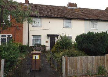 Thumbnail 4 bedroom terraced house for sale in Nacton Road, Ipswich