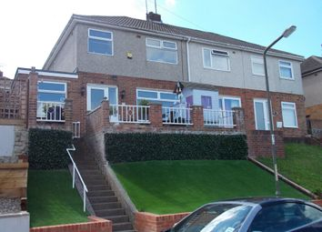 Thumbnail 4 bed semi-detached house for sale in Goddings Drive, Rochester