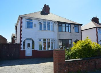 Thumbnail 3 bed semi-detached house for sale in Albany Avenue, South Shore, Blackpool