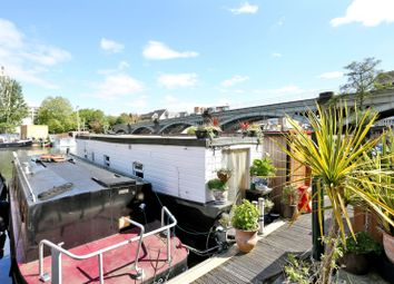 Thumbnail 1 bed houseboat for sale in Burgoine Quay, Lower Teddington Road, Kingston Upon Thames