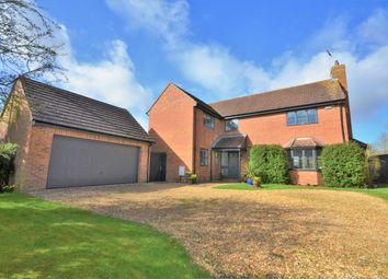 Thumbnail 4 bed detached house for sale in Nags Head Lane, Hargrave, Wellingborough
