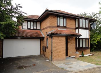 Thumbnail 4 bedroom detached house to rent in Stratfield Court, Great Holm, Milton Keynes
