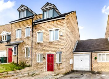 Thumbnail 3 bed semi-detached house for sale in Rordin Heights, Ferndale, Huddersfield