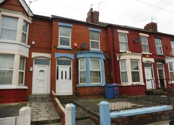 Thumbnail 4 bed property to rent in Bagot Street, Wavertree, Liverpool