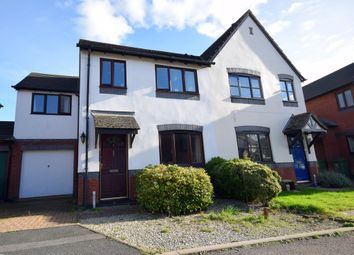 Thumbnail 4 bedroom semi-detached house for sale in Membury Close, Exeter