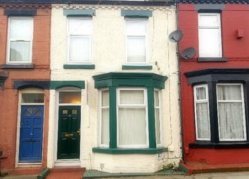 Thumbnail 3 bed terraced house to rent in Tiverton Street, Wavertree