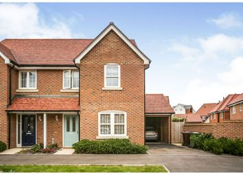 Thumbnail 3 bed semi-detached house for sale in Swithun Road, Ashford