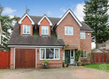 Thumbnail 5 bed detached house for sale in Heather Gardens, Newbury