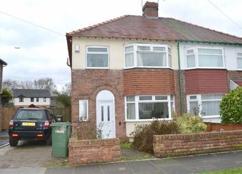 Thumbnail 3 bed semi-detached house for sale in St David Road, Eastham, Wirral
