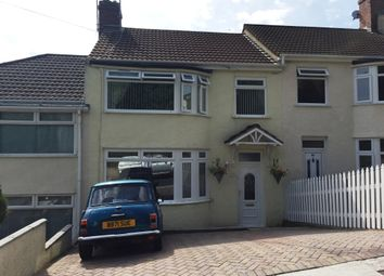 Thumbnail 3 bed terraced house for sale in Sherwell Rise South, Torquay