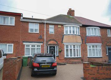 Thumbnail 4 bed semi-detached house for sale in Ferndene Crescent, Sunderland