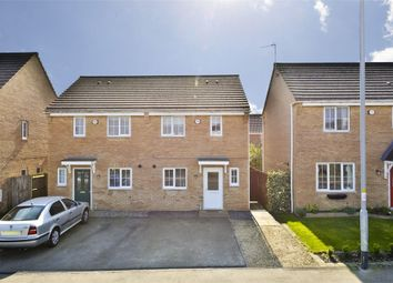 Thumbnail 3 bedroom semi-detached house for sale in Cheltenham Road, Oakley Vale, Corby, Northamptonshire