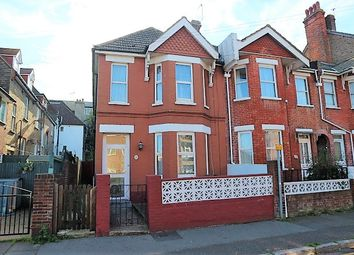 Thumbnail 3 bedroom end terrace house for sale in Langney Road, Eastbourne