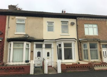 Thumbnail 4 bed terraced house to rent in Milbourne Street, Blackpool