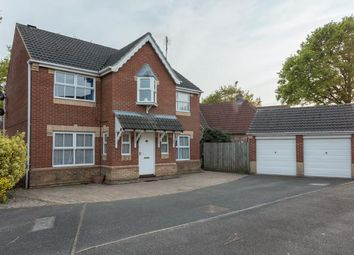 Thumbnail 4 bed detached house for sale in Briar Close, South Hykeham, Lincoln