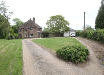 Thumbnail 4 bed detached house to rent in Church Road, Hartley, Longfield