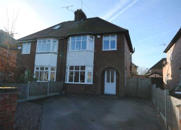 Thumbnail 3 bed semi-detached house for sale in Ashworth Avenue, Ruddington, Nottingham