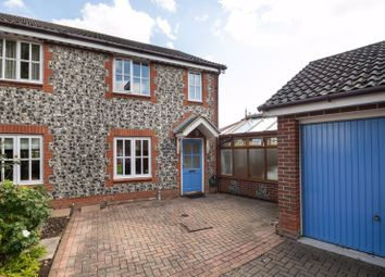 Thumbnail 3 bed end terrace house for sale in Foxbridge Drive, Hunston, Chichester
