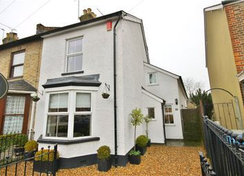 Thumbnail 4 bed end terrace house for sale in Harvest Road, Englefield Green, Surrey