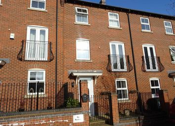 Thumbnail 4 bed town house for sale in Montgomery Road, Earl Shilton, Leicester