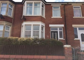 Thumbnail 3 bed terraced house to rent in Coleridge Road, Blackpool