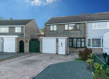Thumbnail 3 bed semi-detached house for sale in Coleridge Drive, Enderby