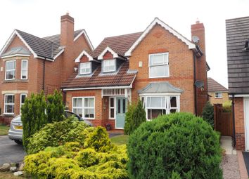 Thumbnail 4 bed detached house for sale in Ireton Avenue, Newark