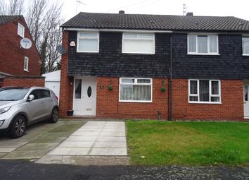 Thumbnail 3 bed semi-detached house for sale in Singleton Drive, Knowsley, Prescot