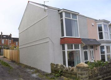 Thumbnail 3 bed end terrace house for sale in Woodville Road, Mumbles, Mumbles Swansea