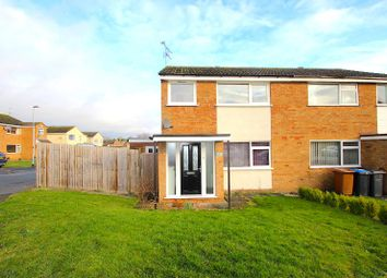 Thumbnail 3 bed semi-detached house for sale in Salisbury Close, Desford, Leicester
