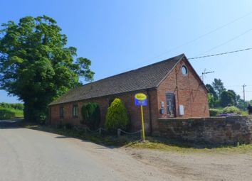 Thumbnail 2 bed barn conversion to rent in Rowton, Telford