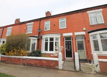 Thumbnail 3 bed terraced house to rent in Bromley Avenue, Flixton, Urmston, Manchester